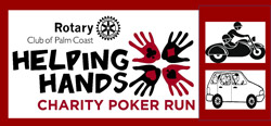 helping hands poker run