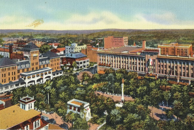 Hemming Park sheds its hateful past.