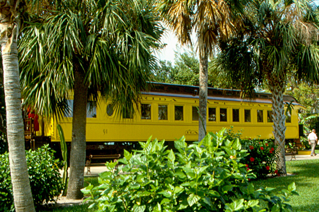 Henry Flagler's legacy to Flagler County and Florida is parked, for now. Rick Scott wants to ensure that it remains so.