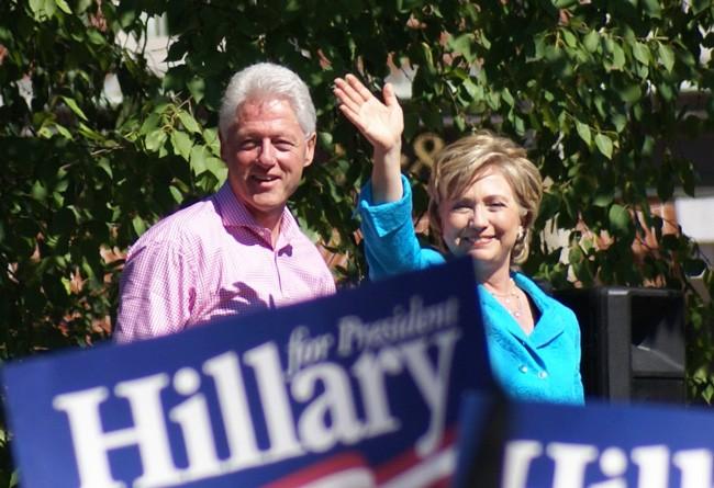 Hillary has a problem. (Marc Nozell)
