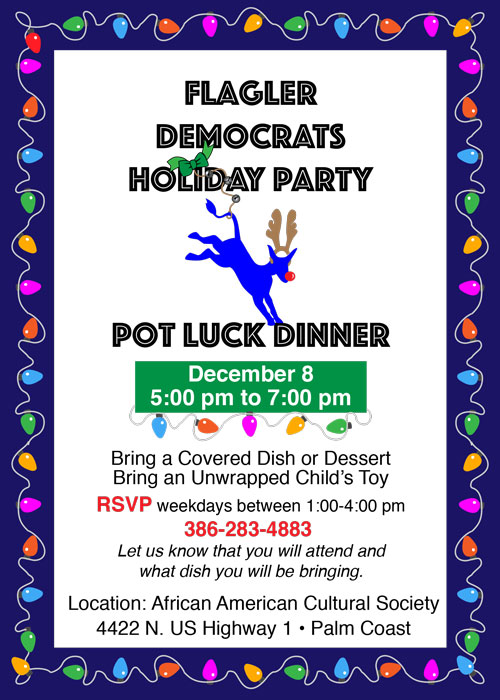 democrats holiday party