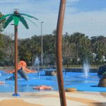 The new splash pad at Holland Park. (Palm Coast)