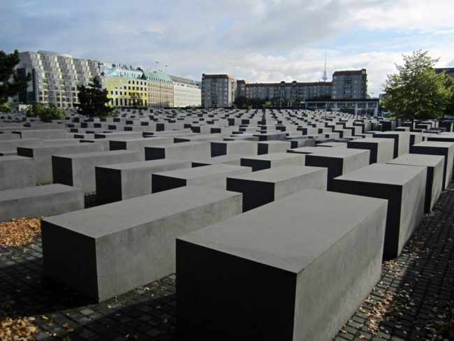 The Holocaust Memorial iN berlin. (Eric Titcombe)