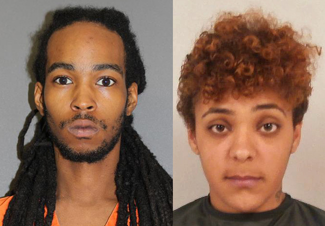 Daniel Evans III, 25, and Carisa Noel Hall, 21 both of South Daytona, are charged with home invasion robbery in Palm Coast.