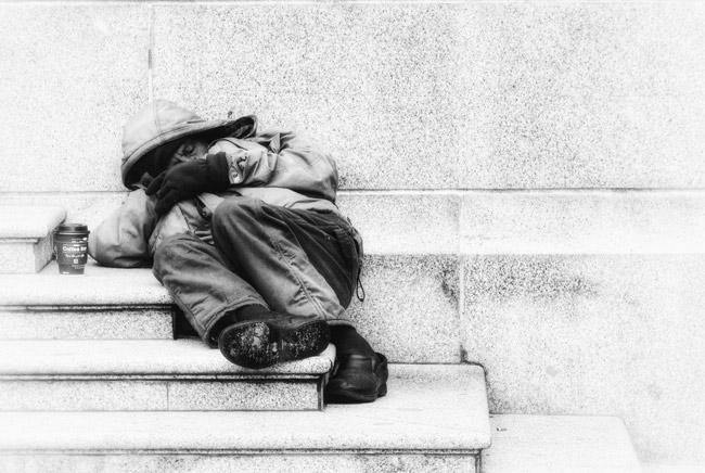 homelessness panhandling bunnell