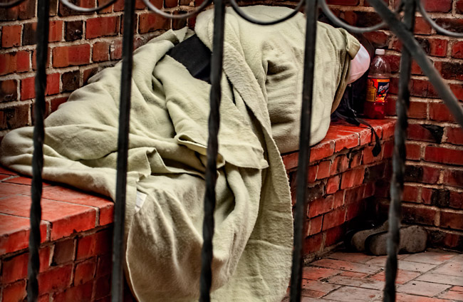 homelessness and color