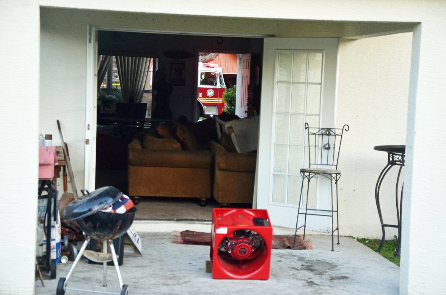 fire severely damages marine veteran s house on palm coast s palm coast firefighters