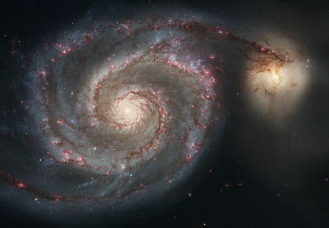 nasa hubble galaxy