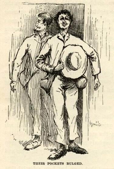 huckleberrry finn mark twain chapter 22 e.w. kemble illustrations
