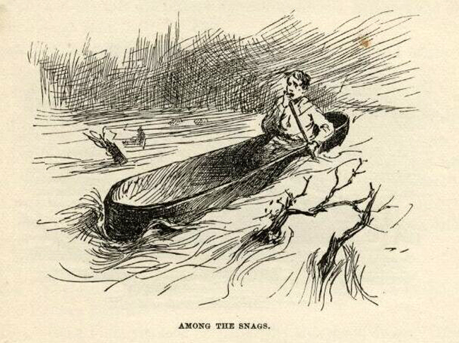 river in huck finn essay The effects of lies in huckleberry finn english literature essay print in the adventures of huckleberry finn by mark in the fog while traveling on the river.