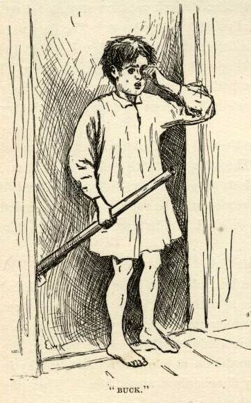 mark twain huckleberry finn e.w. kemble chapter 17 illustrations buck