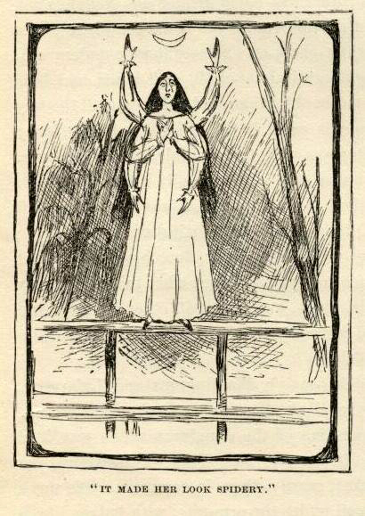 mark twain huckleberry finn e.w. kemble chapter 17 illustrations spidery