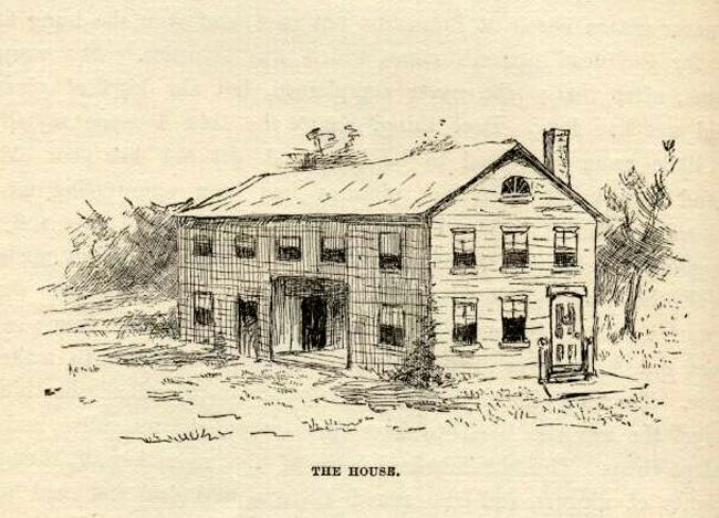mark twain huckleberry finn e.w. kemble chapter 17 illustrations house