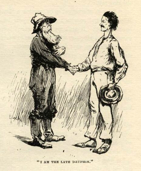 Huckleberry finn mark twain e.w. kemble illustrations chapter 19
