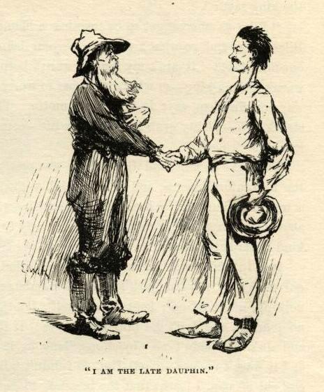 Huckleberry finn mark twain e.w. kemble illustrations chapter 19