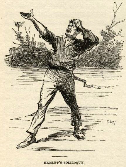 huckleberry finn e.w. kemble illustrations chapter 21