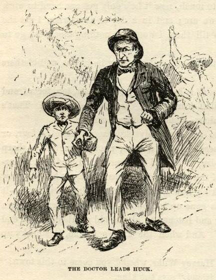 character analysis of walter scott in huckleberry finn by mark twain Sir walter scott later identified as the model for the character huckleberry finn comes from one book by mark twain called huckleberry finn.