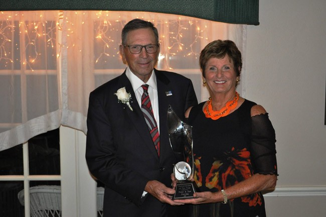 Peter and Sue Freytag humanitarians of the year
