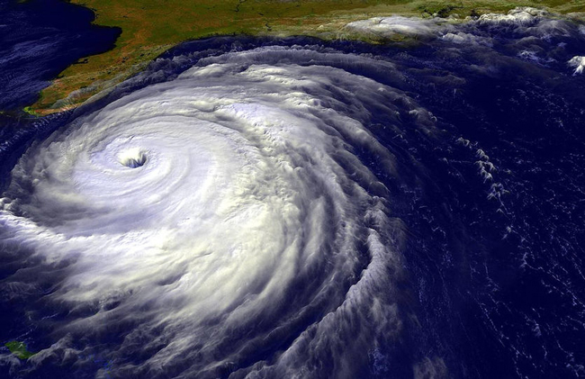 Bad memories of 2004: Hurricane Jeanne, the deadliest of that season, just before it began demolishing parts of the Florida coast.