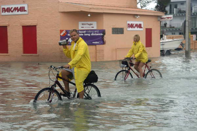 It's been that long: flooding from Hurricane Wilma in 2005. (Florida Memory)