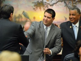 Rep. Travis Hutson, whose district includes all of Flagler County, was influential in passing a bill critical to  county regulation of vacation rentals, though Hutson introduced several amendments that watered down the bill.