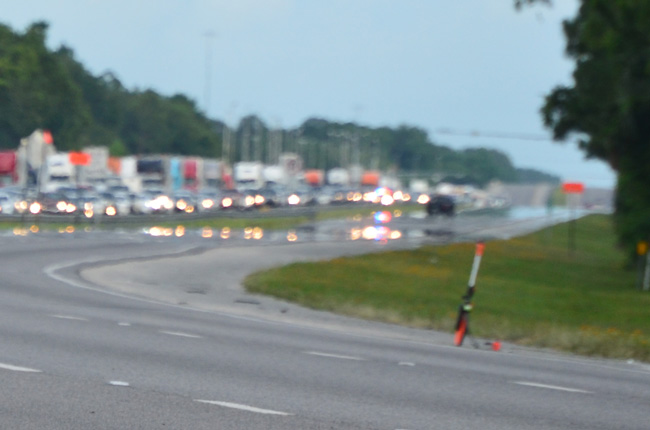 The shooting incident took place Friday afternoon near mile marker 290, in the southbound lanes. The image above is a file photo. (© FlaglerLive)