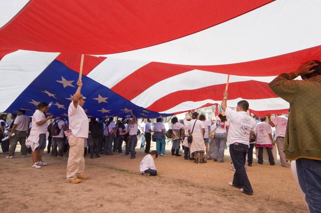 Time to make the big tent meaningful. (SEIU International)