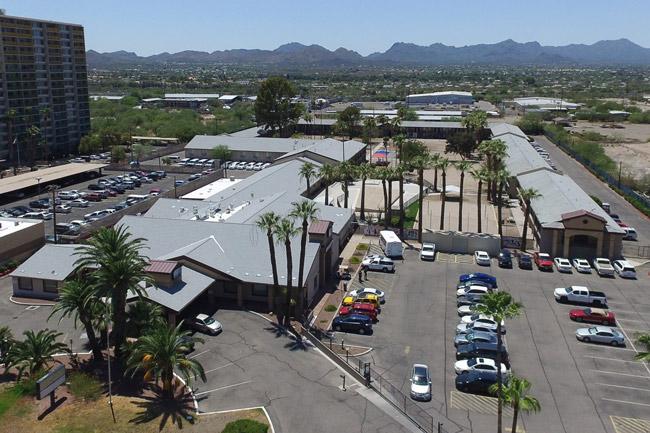 Southwest Key Programs' Estrella del Norte facility in Tucson