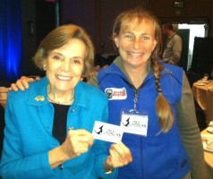 Dr. Sylvia Earle and Dr. Ingrid Visser. (Frank Gromling)