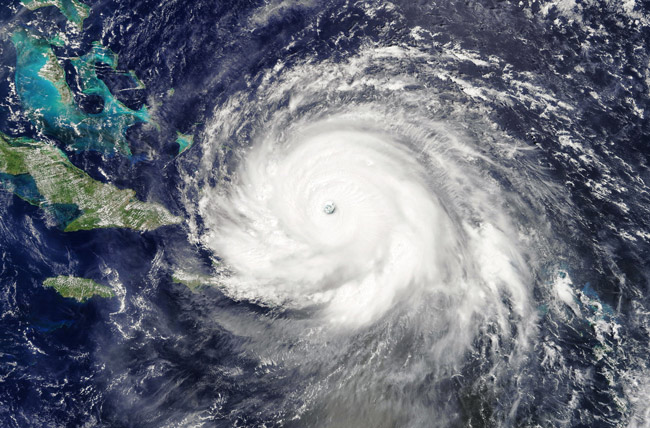 Hurricane Irma at the height of its fury. (NASA)