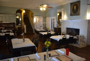 The Island Grille's Flagler Room, pre-diners. Click on the image for larger view. (© FlaglerLive)