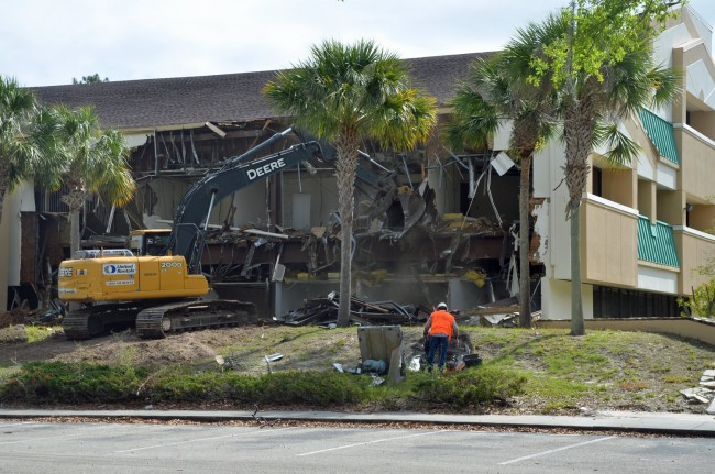 demolition corp one itt building palm coast
