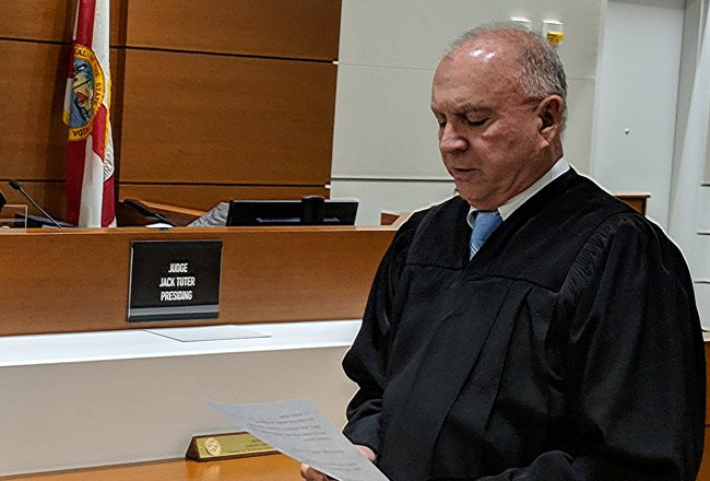 Chief Judge Jack Tuter, of the 17th Judicial Circuit in Broward County, will preside over the grand jury. (17th Judicial Circuit)