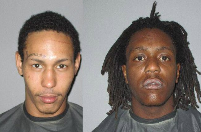 Jacquise D. Gaines-Smith, 18, right, and Alvero Jackson, 23, were arrested in Palm Coast's R Section.