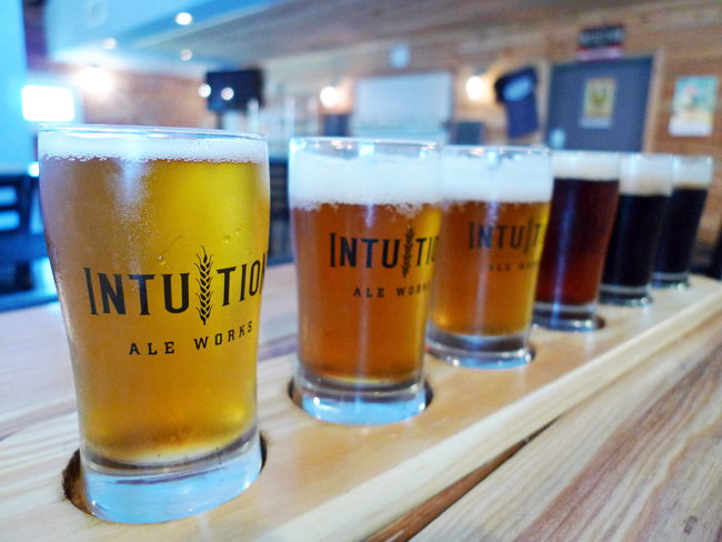 Jacksonville's Intuition Ale Works Inc. is a among the emerging craft breweries whose success would be forcibly limited by quotas imposed through a legislative proposal that favors big beer distributors. (Facebook)
