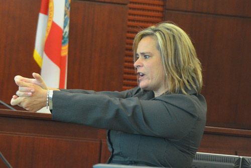 Assistant State Attorney Jacquelyn Roys is prosecuting the murder of Ed Mullener. (© FlaglerLive)