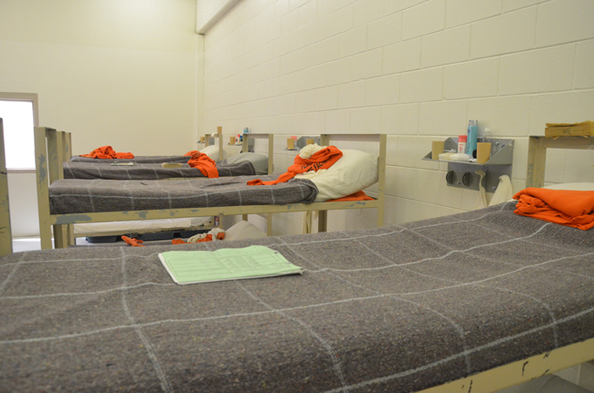 It wouldn;t help the county's case for a new jail if beds at the Flagler County jail aren't consistently filled. (© FlaglerLive)