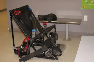 The Flagler County jail's dreaded restraint chair. Click on the image for larger view. (FCSO)