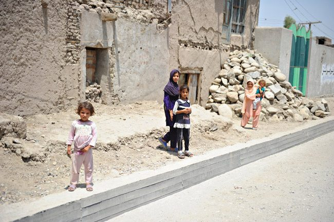 Children of Jalalabad, the province where Nangarhar Women's Prison is located. (Department of Defense)