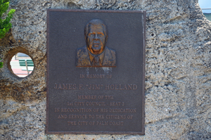 james holland park plaque