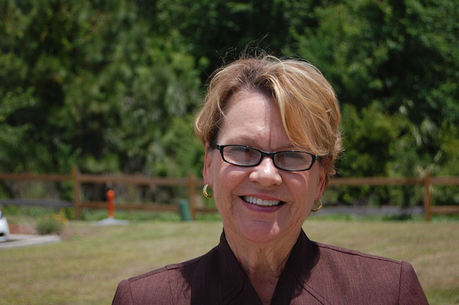 Janet Valentine has been superintendent of Flagler County schools since 2010. (© FlaglerLive)