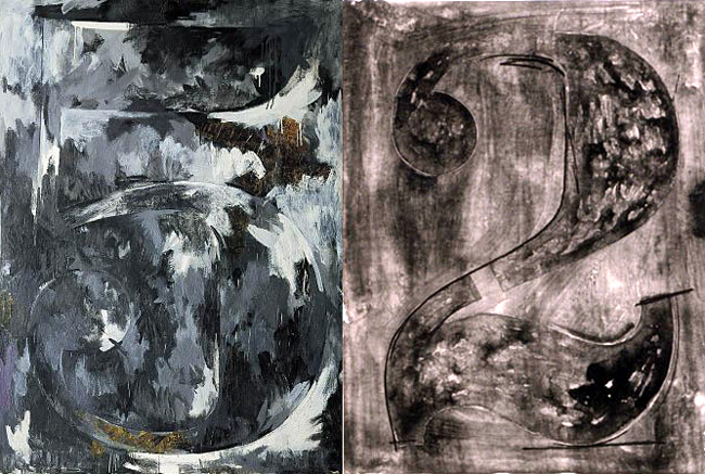 jasper johns fives twos 5 and 2