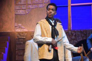Timothy Hawkins is Javert. (© FlaglerLive)