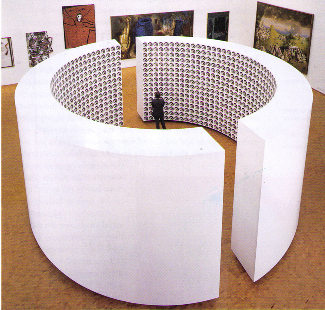 Jean-Pierre Raynaud's 'Human Space' (1995).
