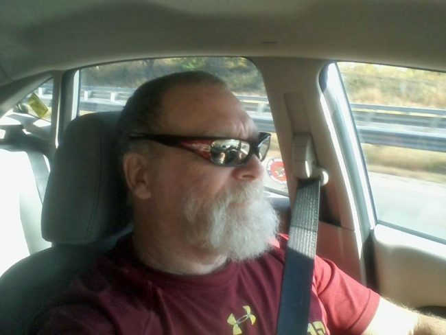 A recent image of Jeff Coffman from his Facebook page.