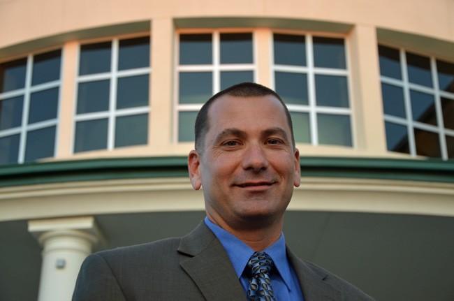 Jeff Hoffman in 2012. (© FlaglerLive)