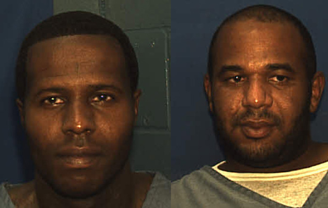 Charles Walker, left, and Joseph Jenkins, were able to escape prison on forged documents.