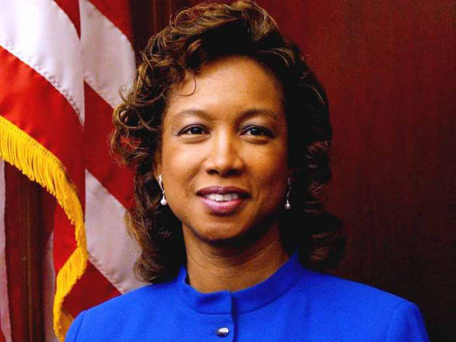 Lt. Gov. Jennifer Carroll.