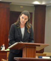 Assistant State Attorney Jennifer Dunton. (© FlaglerLive)