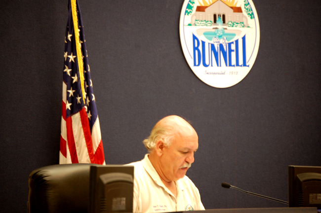 bunnell city commissioner jimmy flynt